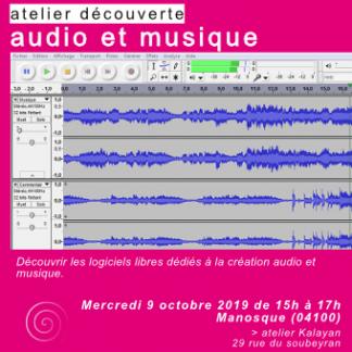 atelier découverte audio et musique